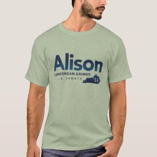 Grimes de Alison Lundergan para el senado 2014 de Playera