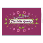 Grimke ~ Charlotte ~ Famous American Women Greeting Card