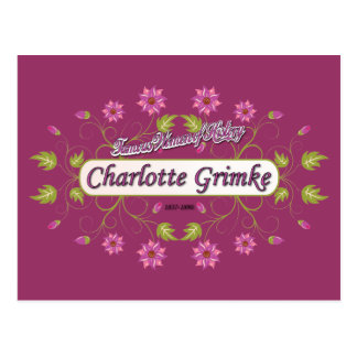 Grimke ~ Charlotte ~ Famous American Women Postcards