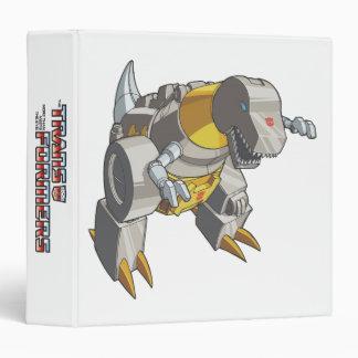 Grimlock Dino Mode Vinyl Binder
