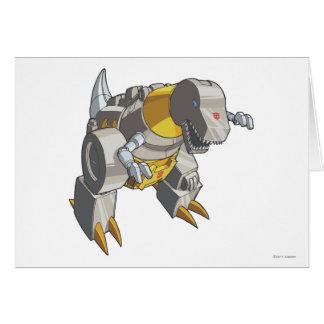 Grimlock Dino Mode Card