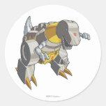 Grimlock Dino Mode Classic Round Sticker