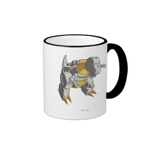 Grimlock Dino Mode Coffee Mugs