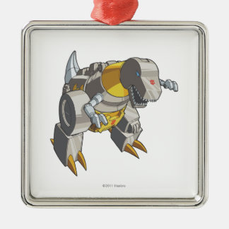 Grimlock Dino Mode Metal Ornament