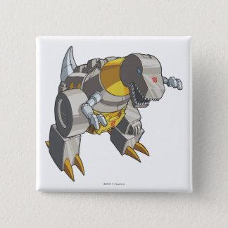 Grimlock Dino Mode Pinback Button