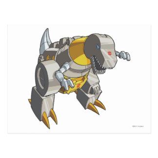 Grimlock Dino Mode Postcard