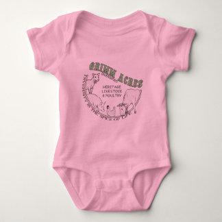 Grimm Acres, Diversified Logo Baby Bodysuit