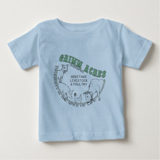 Grimm Acres, Diversified Logo Baby T-Shirt