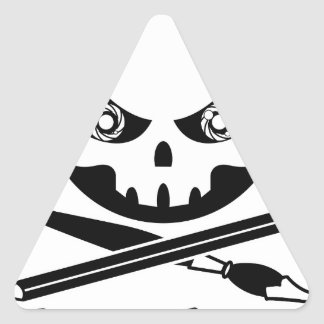 Grimm Graphics Triangle Sticker