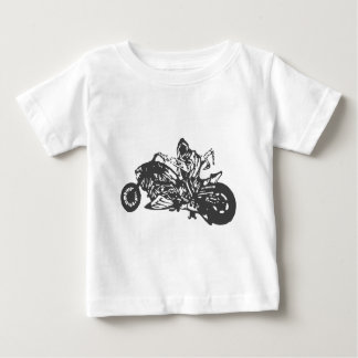 Grimm Reaper Chopper Motorcycle Baby T-Shirt