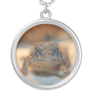 Grimm Uromastyx Round Pendant Necklace