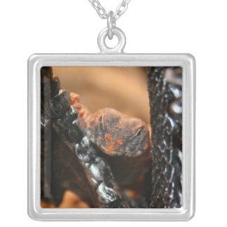 Grimm Uromastyx Square Pendant Necklace