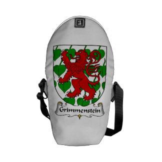 Grimmenstein Family Crest Courier Bag