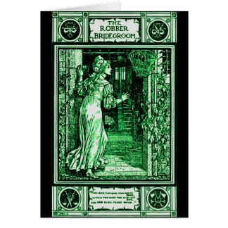 Grimm's Robber Bridegroom Card
