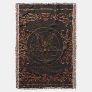 Grimoire tapestry throw blanket