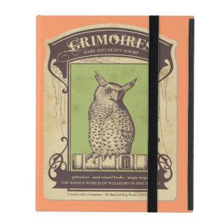 Grimoires Owl iPad Cases