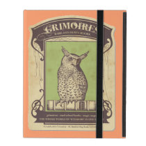 Grimoires Owl iPad Cases