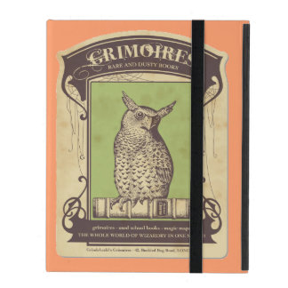 Grimoires Owl iPad Cover
