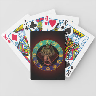 grimreaper and horoscope poker cards