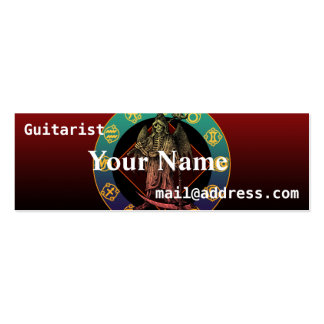 grimreaper Double-Sided mini business cards (Pack of 20)