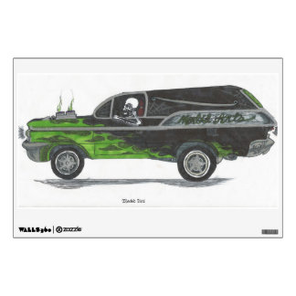 GrimRide Wall Decal