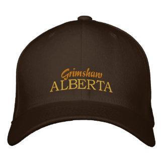 Grimshaw, Alberta Canada Hat Embroidered Baseball Cap