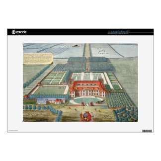 """Grimsthorp in the county of Lincoln engraved by Jo 15"""" Laptop Decal"""