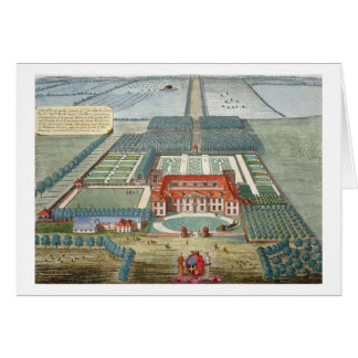 Grimsthorp in the county of Lincoln engraved by Jo Greeting Card