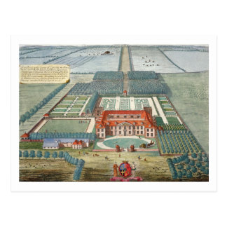 Grimsthorp in the county of Lincoln engraved by Jo Postcard