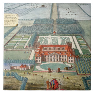 Grimsthorp in the county of Lincoln engraved by Jo Ceramic Tiles