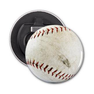 Grimy Dirty Softball or Baseball Button Bottle Opener