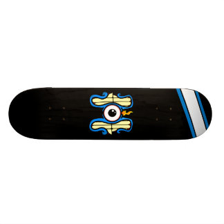 Grin and Bare it, deck design. Custom Skate Board