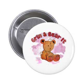 grin and bear it button