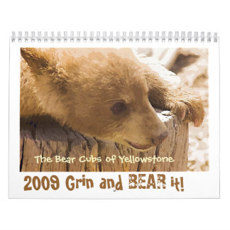 Grin and Bear it - Customized Calendar