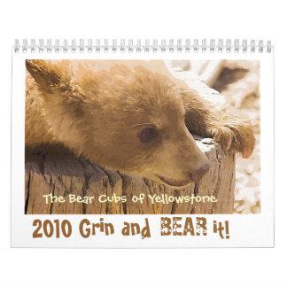 Grin and Bear it - Customized Calendar