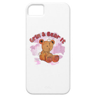 grin and bear it iphone case iPhone 5 case