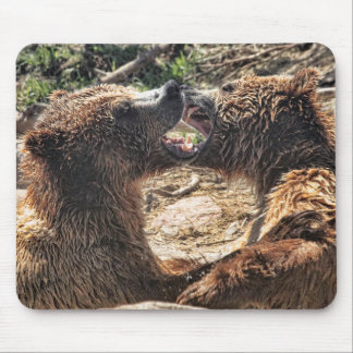 Grin And Bear It Mouse Pad