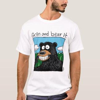 grin & Bear it (color) T-Shirt