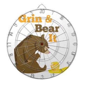 Grin & Bear It Dartboard