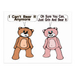 Grin & Bear It Post Cards