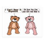 Grin & Bear It Postcard