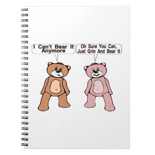 Grin & Bear It Spiral Notebooks