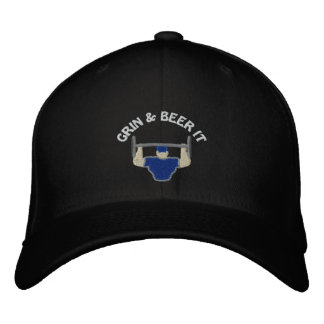 Grin & Beer It Embroidered Cap