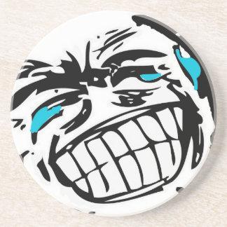 Grin Comic Face Coaster