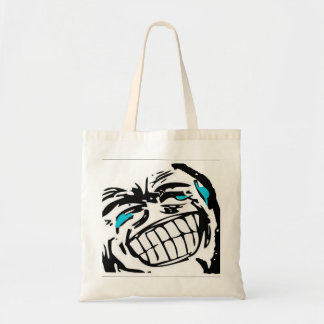Grin Comic Face Tote Bag