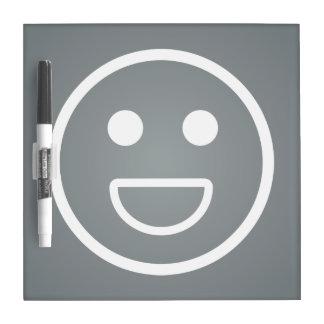 Grin Faces Pictogram Dry Erase Boards