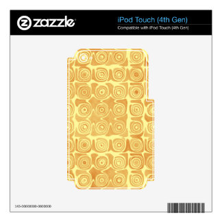 Grin Idea Acclaimed Pretty iPod Touch 4G Skins