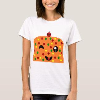 Grin Wink wear a Fruit Cake T-Shirt