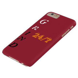 Grind 24\7 Iphone 6 plus covers Barely There iPhone 6 Plus Case