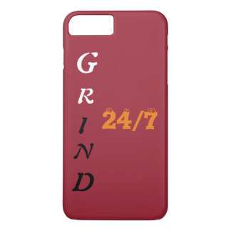 Grind 24\7 iPhone 7 plus covers